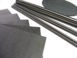 Tungsten sheets, rods, bars